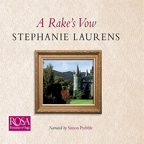 A Rake's Vow audiobook cover art