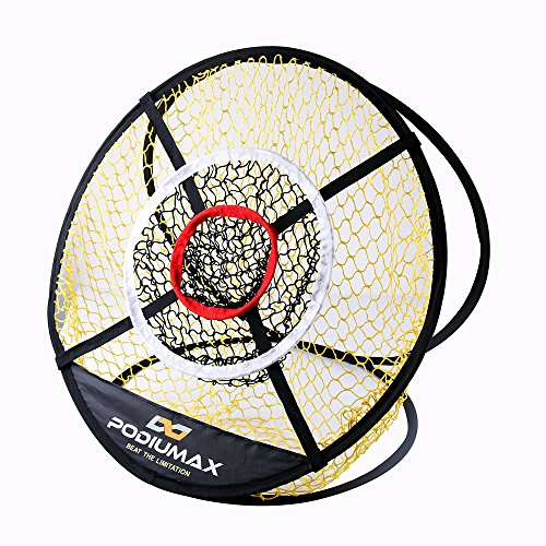 PodiuMax Pop Up Golf Chipping Net, Indoor/Outdoor Golfing Target Net for...