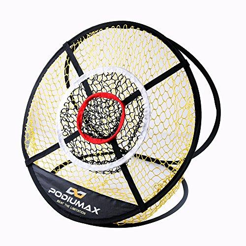 PodiuMax Pop Up Golf Chipping Net, Indoor/Outdoor Golfing Target Net for Accuracy and Swing Practice (24'')