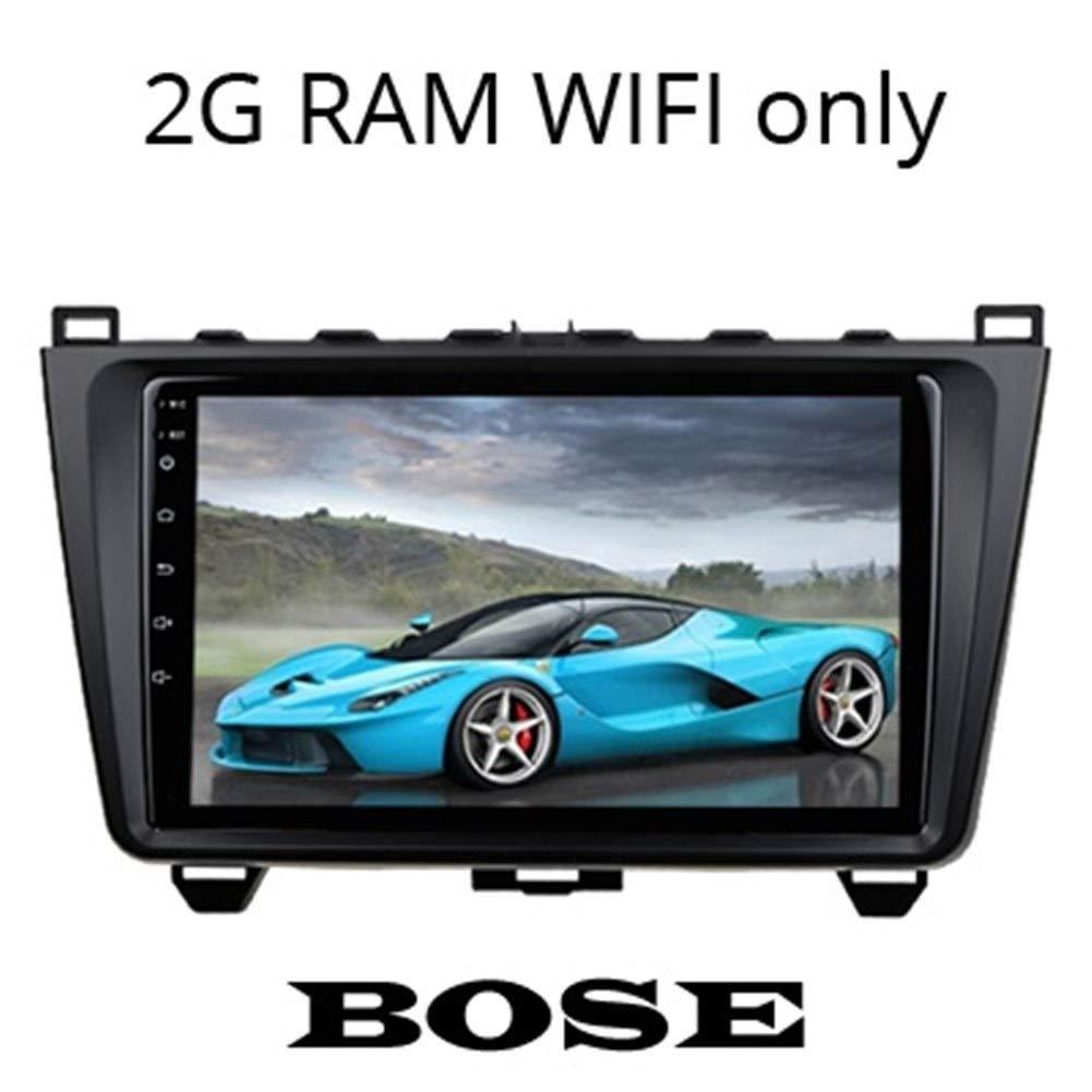 Navegador GPS para Coche Pantalla de Soporte del Sistema de Audio Bose SIM 4G Tarjeta IPS/QLED 2G / 4G del GPS del Coche Jugador de la navegación Compatible con Mazda 6: Amazon.es: