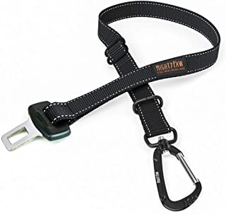 Mighty Paw Dog Seat Belt | Pet Safety Belt, Created with Human Seatbelt Material. All-Metal Hardware with Adjustable Lengt...