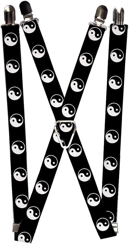 Buckle-Down Suspender - Yin Yang