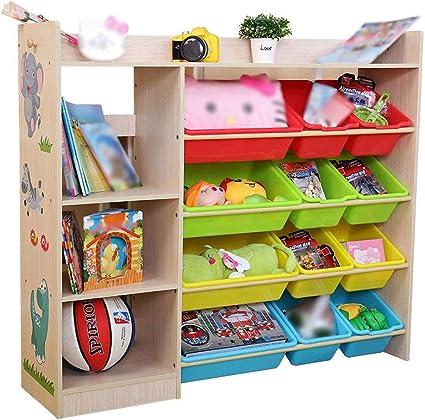Estantería de juguetes Librería Estantería de libros Juego ...