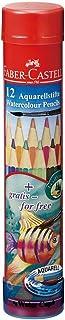 ファーバーカステル 水彩色鉛筆 丸缶 12色セット TFC-115912
