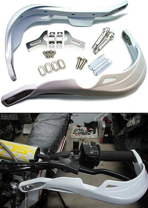 LiQinKeJi8 Paramani universali per Moto Moto Maniglia di plastica Bar paramani Handguard di Protezione della Protezione Dirt Bike Via Moto da Cross for Yamaha per i motocicli Color : Blue