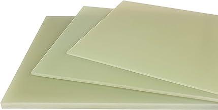 GFK-platen FR4 natuurgroen glashartweefsel kunststof plaat (2,5 mm, 520 x 260 mm)