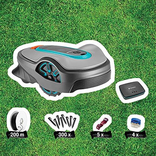 Gardena smart Sileno Set city 500: Mähroboter bis 500 m² Rasenfläche mit App Steuerung - 5