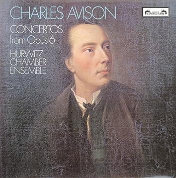 Avison: 6 Concertos from Op.6