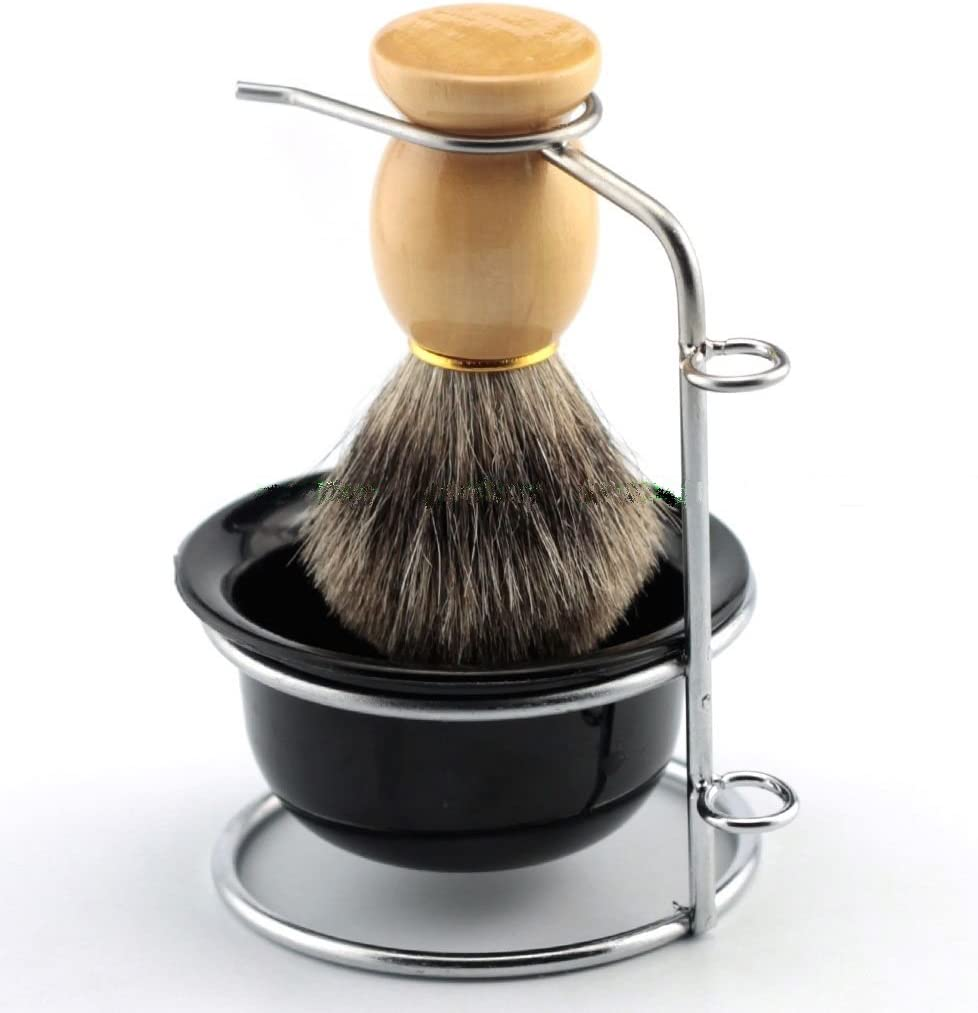 Yosoo Men's Shaving Brushes Set Bru Stainless quality assurance Steel Selling and selling with