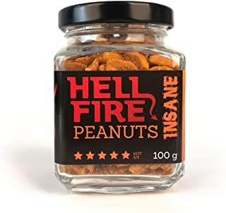 Volim Ljuto Hellfire Wahnsinnig Erdnüsse Carolina Reaper Chili 100 g Scharfe 5/5