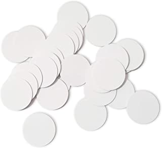 THONSEN 25pcs NTAG215 NFC Tags Round 30mm(1.18 inch) Blank White NTAG215 NFC Cards Compatible TagMo Amiibo and All NFC Ena...