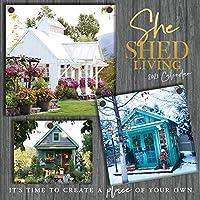 Turner Licensing She Shed Living 2021 12X12 壁カレンダー (21998075113)