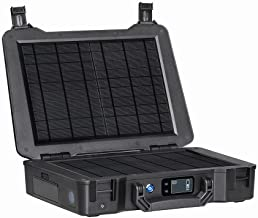 Renogy Phoenix 246.24Wh/150W Portable Generator All-in-one Kit with 20W Built-in Solar Panel for Outdoors Camping Travel Emergency Off-Grid Applications, Phoenix, Black