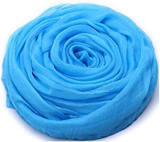WYMAI Scarf, Ladies Scarf, Fashion Spring, Summer and Autumn Shawl, Best Gift Size 170 * 150 cm Simple and Practical Product (Color : Blue, Size : 170 * 150cm)