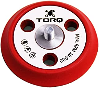 Torq R5 Dual-Action Backing Plate with Hyper Flex Technology, Red (3 Inch)