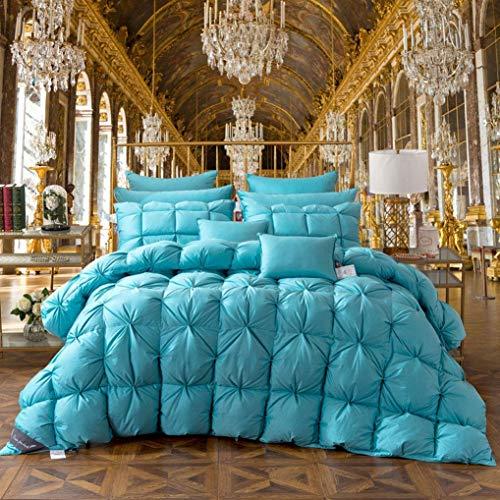 LEILEI 100% white goose down duvet,4 seasons,classic quilt with insert,hypoallergenic,100% cotton duvet,200 * 230cm(3.75kg)