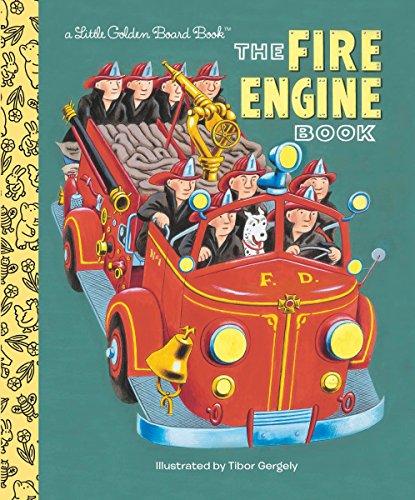Fire Engine Book (Little Golden Board Book)
