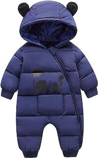 Wxian Unisex Children Warm Down Coat Puffer Jacket Three-Piece