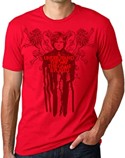 TeeINKS Game of Thrones Tyrion Red Shirt I Understand The Way This Game is Played