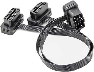 Rockyin 38 Pin a 16 Pin Adattatore OBD2 cavo connettore diagnostico for Mercedes Benz