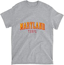 Official NCAA University of Maryland Terrapins - RYLMD07 Mens/Womens Boyfriend T-Shirt
