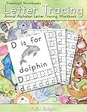 Preschool Workbooks Letter Tracing: Animal Alphabet Letter Tracing Workbook