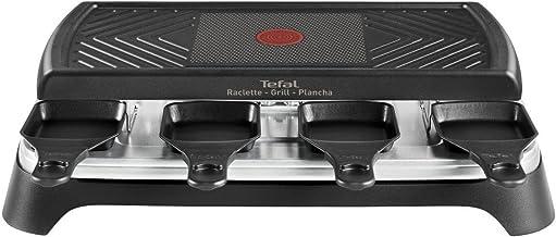 Tefal - re459812 - Appareil à raclette plancha 8 personnes 1100w + grill gourmet 8 smart