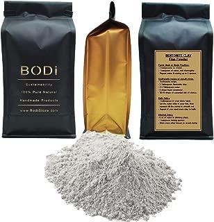 BENTONITE CLAY (1 LB) 100% Pure Extra Fine Powder - Food-Grade - Excellent Skin Cleanse