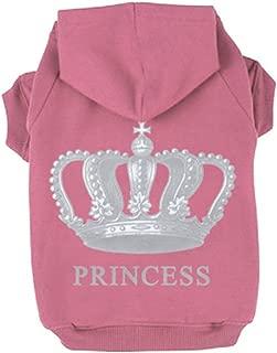 EXPAWLORER Princess Dog Cat Fleece Sweatshirt Hoodies