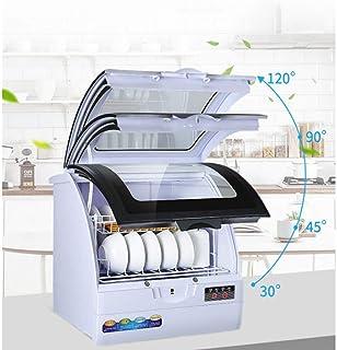 RAPLANC Hogar Completamente automático Escritorio lavavajillas calefacción a pequeña Escala y la desinfección de la máquina lavavajillas de Tipo Aerosol