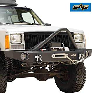 EAG Stinger Front Bumper with Winch Plate