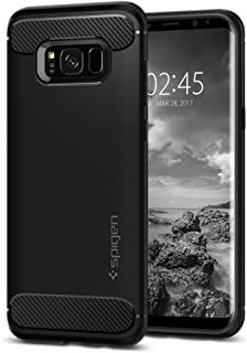Spigen Rugged Armor Designed for Samsung Galaxy S8 Plus Case(2017) - Black