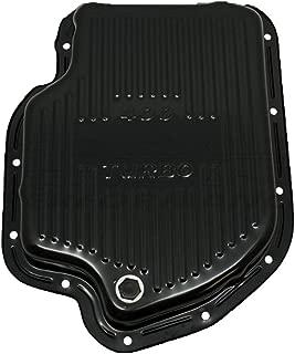 Fits Chevy GM Turbo Th-400 Steel Transmission Pan (Deep Sump) Black