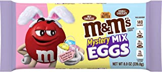 M&M'S Mystery Mix Speckled Eggs Chocolate Easter Candy, 8 oz Bag