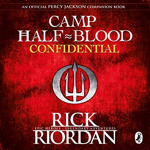 Camp Half-Blood Confidential audiobook cover art