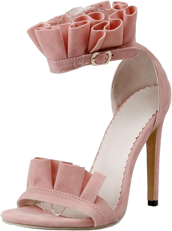 AicciAizzi Women Ankle Strap Sandals shoes Stiletto