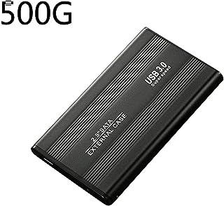 2.5inch 500GB 1TB 2TB Externo Alta Velocidad Disco Duro Móvil USB3.0 SATA3.0 Disco - Negro, 2tb