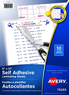 Amazon Ca Laminating Sheet