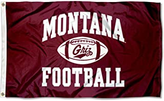 College Flags and Banners Co. Montana Grizzlies Football Flag