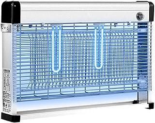 La lámpara eléctrica for Asesinos de Mosquitos Comercial, atrae a la luz Ultravioleta del Insecto Volador, Bug Zapper con una Potente Red de 4/6 / 10W LED 2000V