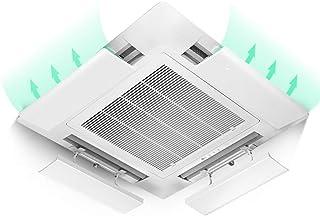 SR Aire Acondicionado Central Deflector de Viento Accesorios del acondicionador de Aire Antirretorno contra el Viento Blowles de protección (una Pieza) (Size : 43cm)