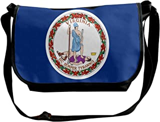 Futong Huaxia Lineman American Flag Travel Messenger Bags Handbag Shoulder Bag Crossbody Bag Unisex