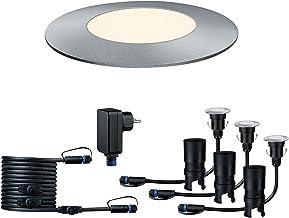 Paulmann 93697 Outdoor Plug & Shine Floor Mini 3-delige basisset 3000K 3x2,5W 24V 93697 Grondinbouwarmatuur LED buitenverl...
