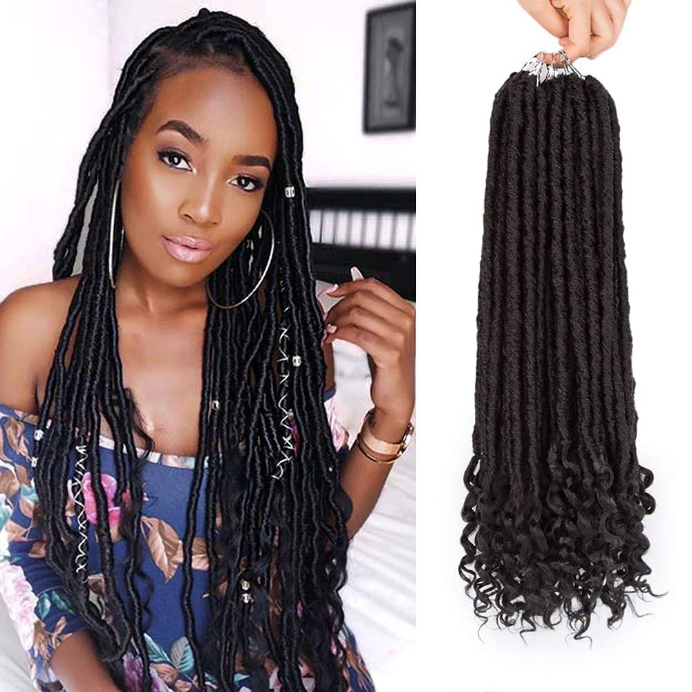 70% OFF Outlet Jenniferita 5 ☆ popular Crochet Hair Faux Locs Extensio Inch 20