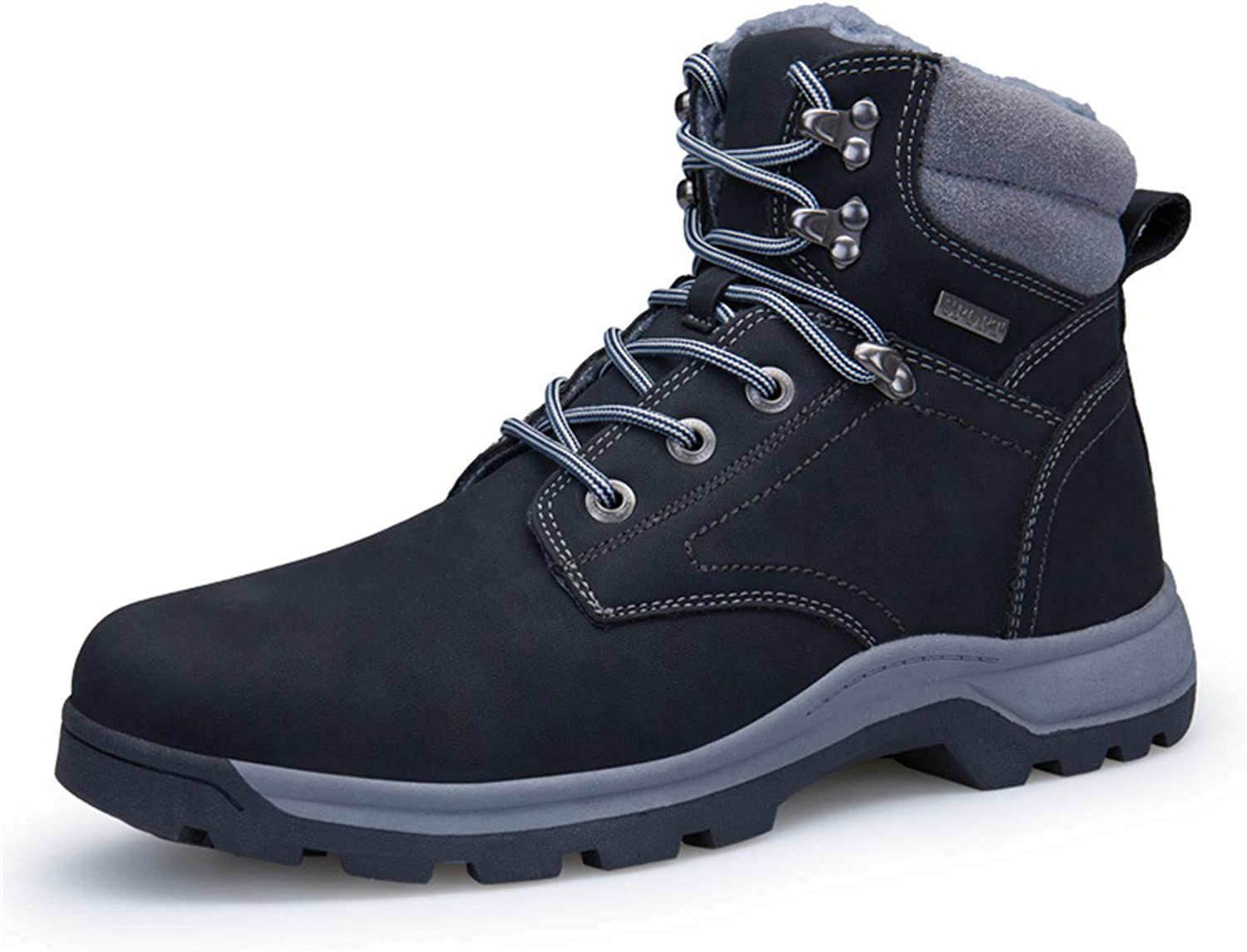 Men Snow Boots Waterproof New Winter Men's Leather Rubber Snow Boots Leisure Outdoor Boots