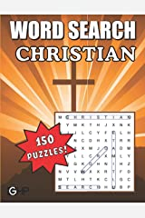 Christian Word Search: Bible Word Find Puzzle Book for Adults, Seniors and Kids Paperback