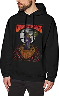 Queens of The Stone Age Comfortable Men's Hoodie Sweatshirt Black