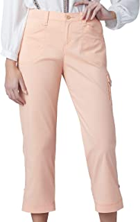 Lee womens Petite Flex-To-Go Relaxed Fit Cargo Capri Pant Pants