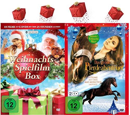 Die Familien Weihnachten Selection - 24 Filme zum Fest der Liebe und der Besinnlichkeit [9 DVDs]