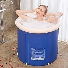XIAOWANG Cylindre de Pliage Bain Baignoire Adulte Bain Gonflable, Bains à remous Bain Faltbadewanne Adulte Gonflable PPBat...